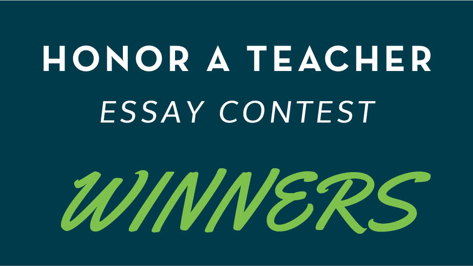 "honor a teacher essay contest winners catholic schools center of  cscoe is excited to announce the winning students and teachers from our ""honor a teacher"" essay contest we received hundreds of submissions and the"
