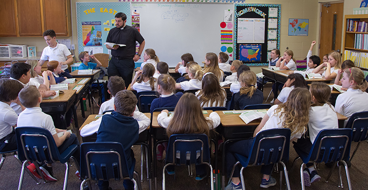 essay catholic school education Our catholic school system strives to provide an education where excellence is the norm, both in religious and in secular studies a catholic school should be a place where children love to be.